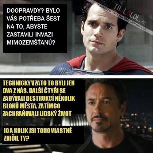 Superman vs Ironman