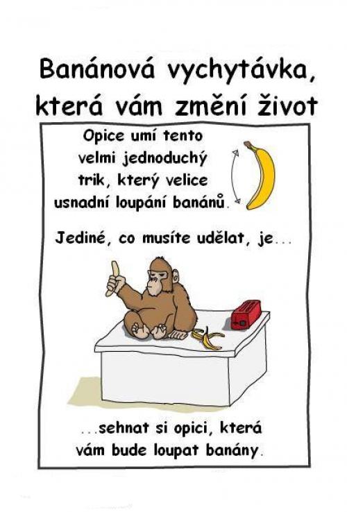 Banánová vychytávka
