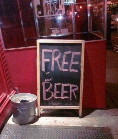 Free beer ?