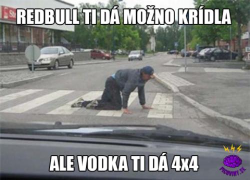 Vodka ti dá 4x4