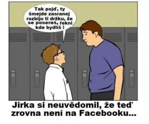 Tohle není Facebook, ale realita