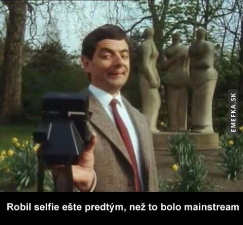 Selfie v podání Mr. Beana