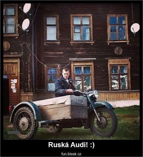 Ruská Audi