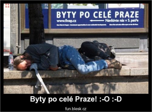 Byty po celé Praze! :-O :-D