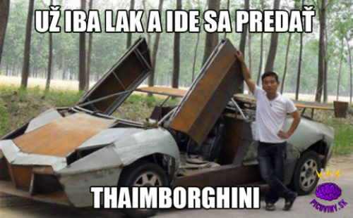 Lamborghini - limitovaná edice