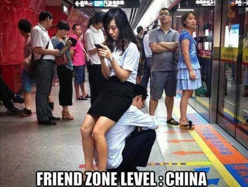 Friendzone Level: China