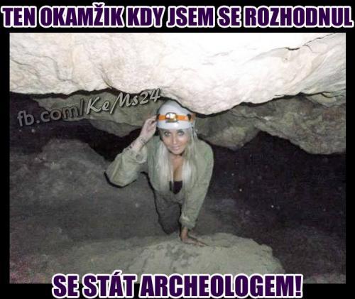 Budu archeologem