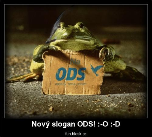Nový slogan ODS! :-O :-D