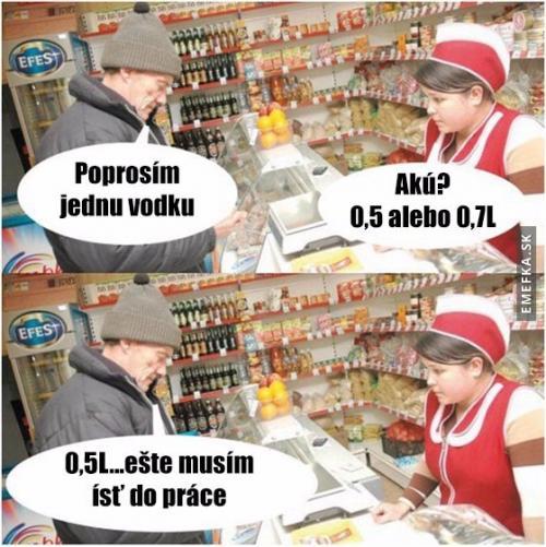 Když Rusák nakupuje vodku