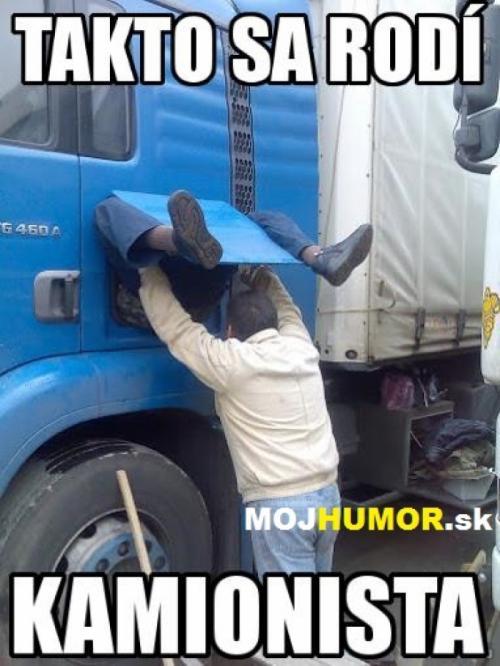 Takto se rodí kamionista
