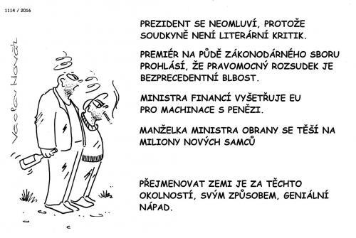 Nový název Czechia