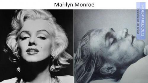 Celebrity a jejich posmrtné fotografie