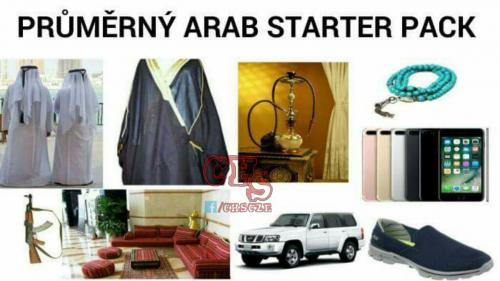 Průměrný Arab