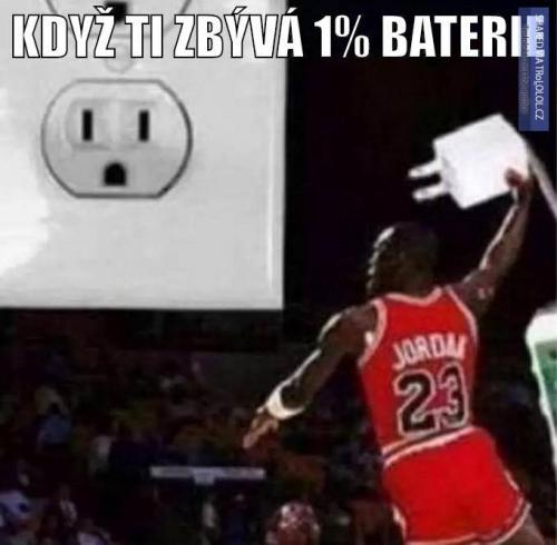 1% Baterky
