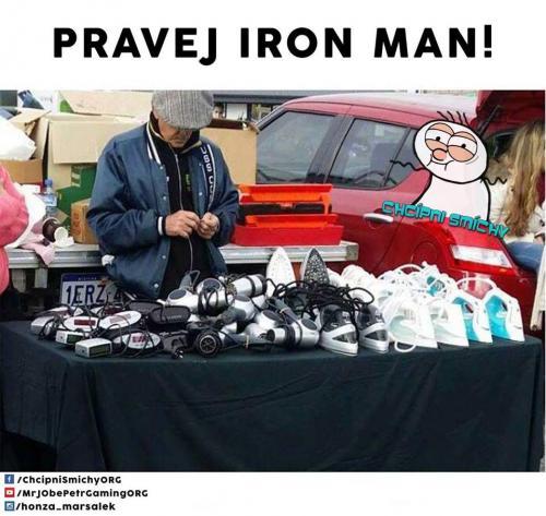 Pravej IRON man
