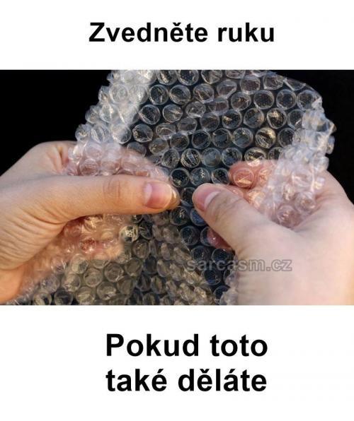 Bublinková fólie je boží