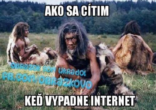 Bez internetu :D