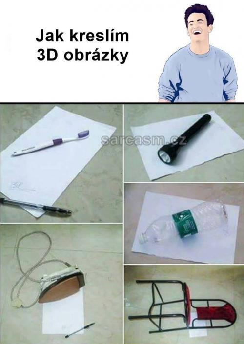 3D obrázky