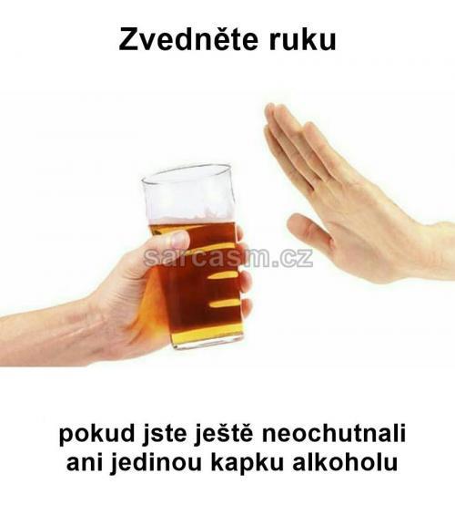 Kapka alkoholu