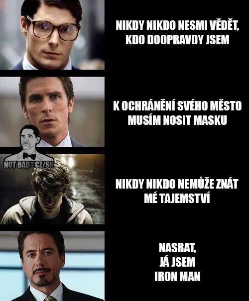 Ochránci světa vs. Iron man