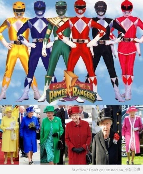Královský Power Rangers