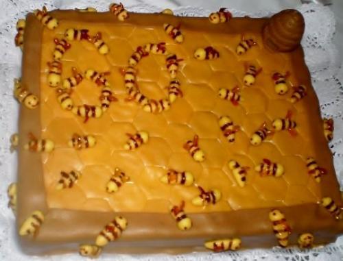 včeli dort