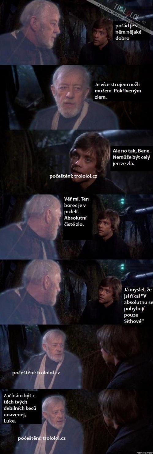 Darth Vader a strejda Ben