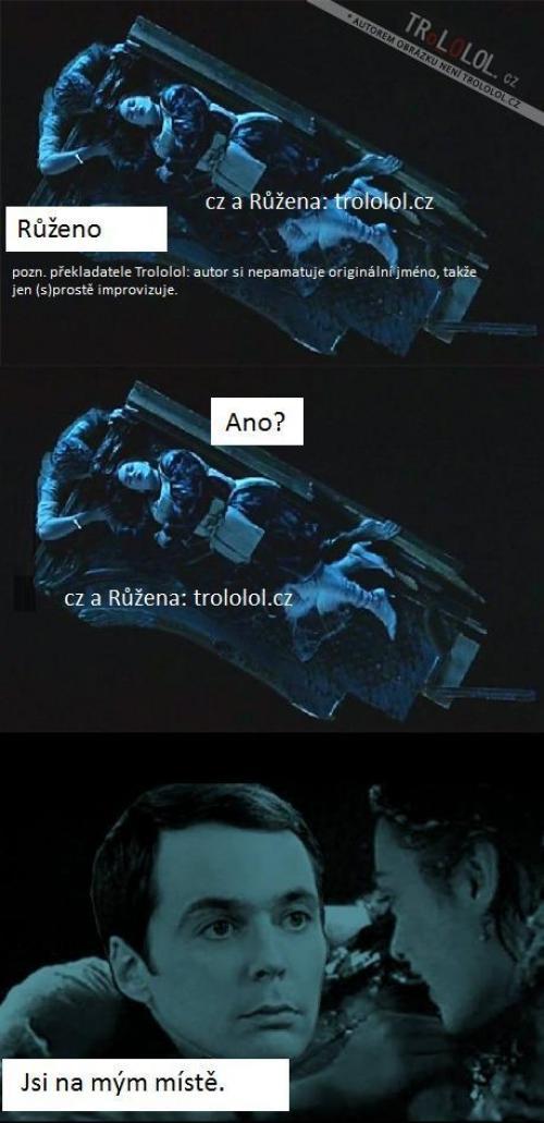 Jak měl původně skončit Titanic