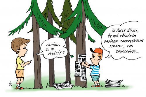 Záchrana stromů