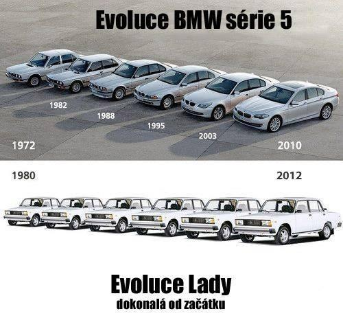 Evoluce Lady, Evoluce BMW