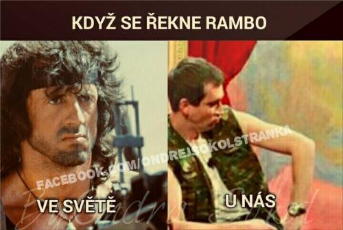 Rambo ve světě