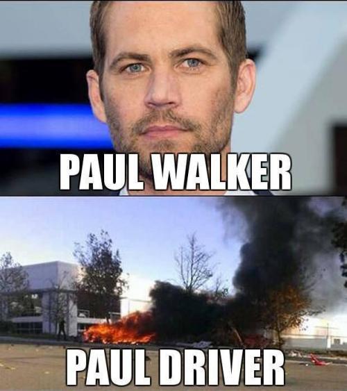 Paul Walker a Paul Driver