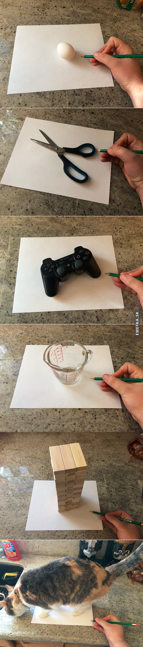 Úžasné 3D kresby :O