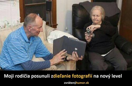 Sdílení fotografií