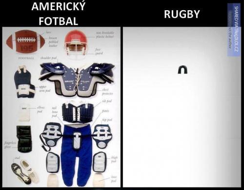Fotbal vs rugby