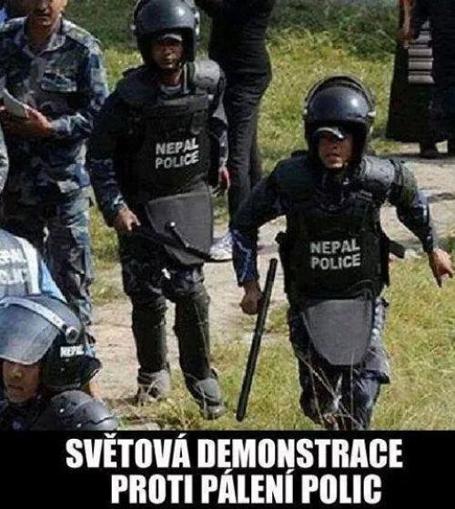 Nepal police!