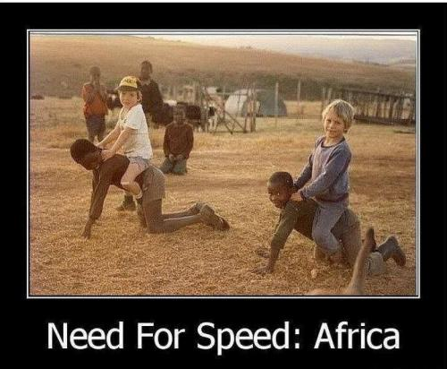 Need for speed v Africe