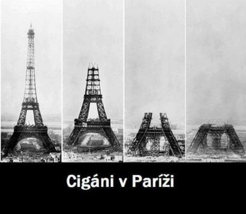 Cigáni v Paříži