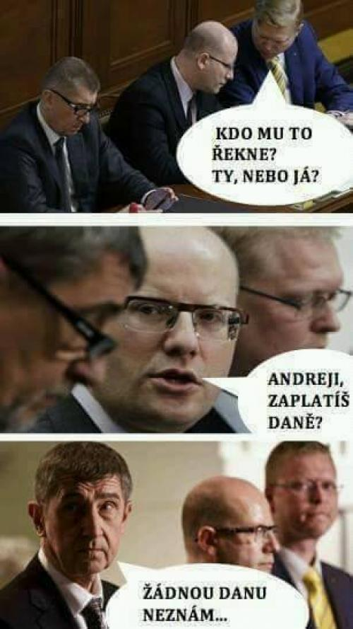 Andrej nedomyslel