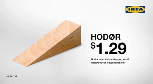 Nový výrobek Ikea