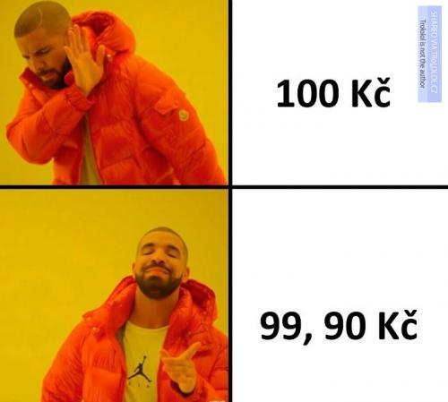 Ceny v obchodech