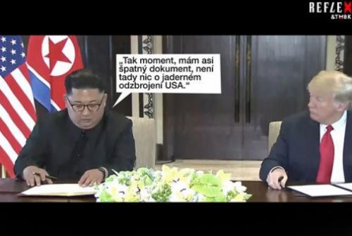Kim a Donald