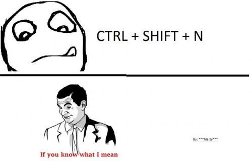 Ctrl+Shift+N