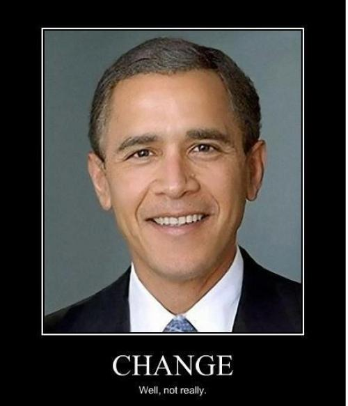 Obama a Bush