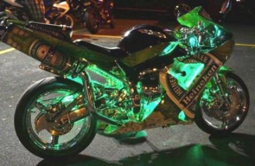 Heineken motorka