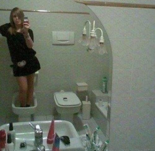 Super foto z koupelny