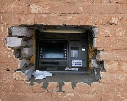 Hulk nainstalovat nová bankomat!