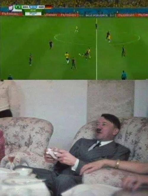 Německo vs. Brazílie