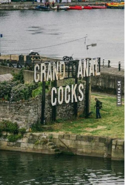 Grand canal docks :)