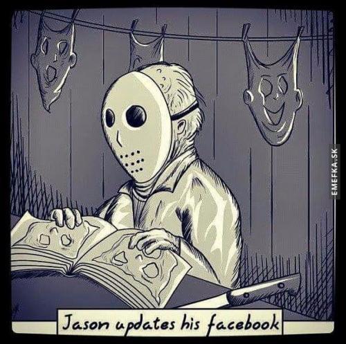 Jason chce jít s dobou